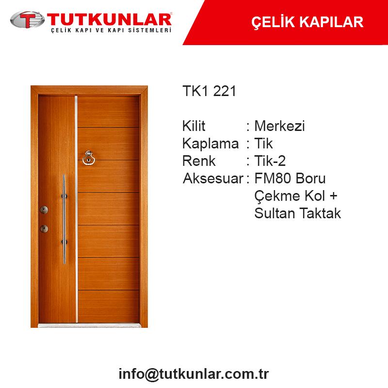 Çelik Kapı TK1 221