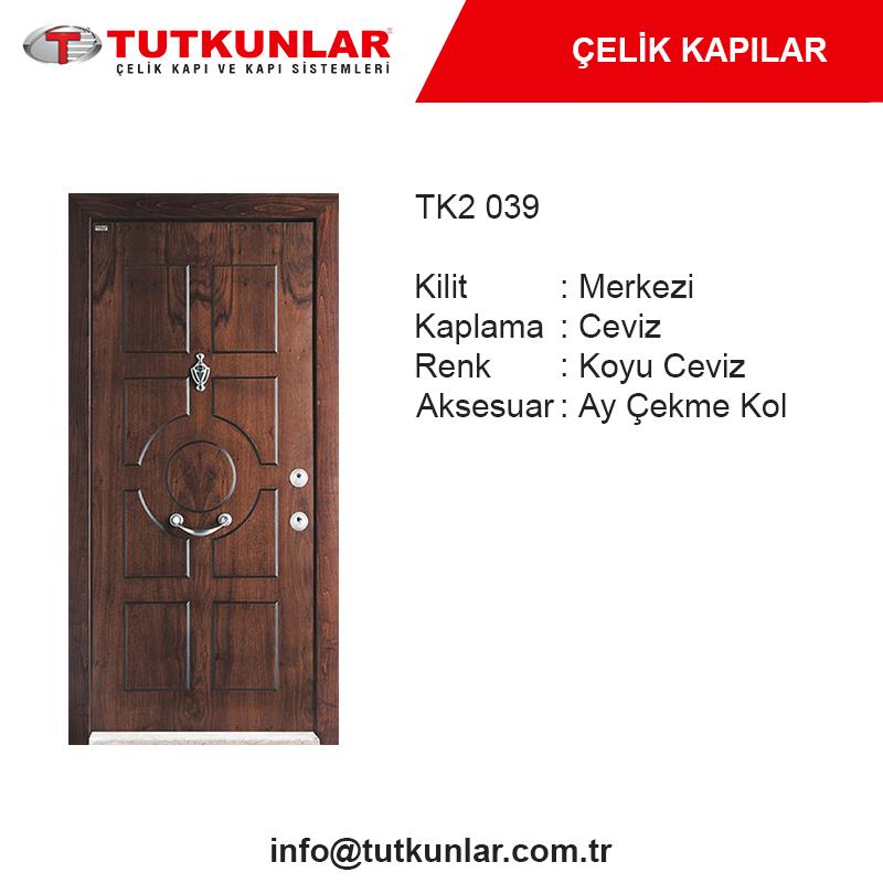 Çelik Kapı TK2 039