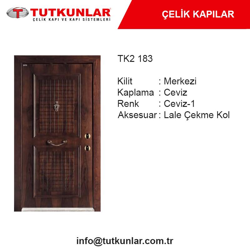 Çelik Kapı TK2 183