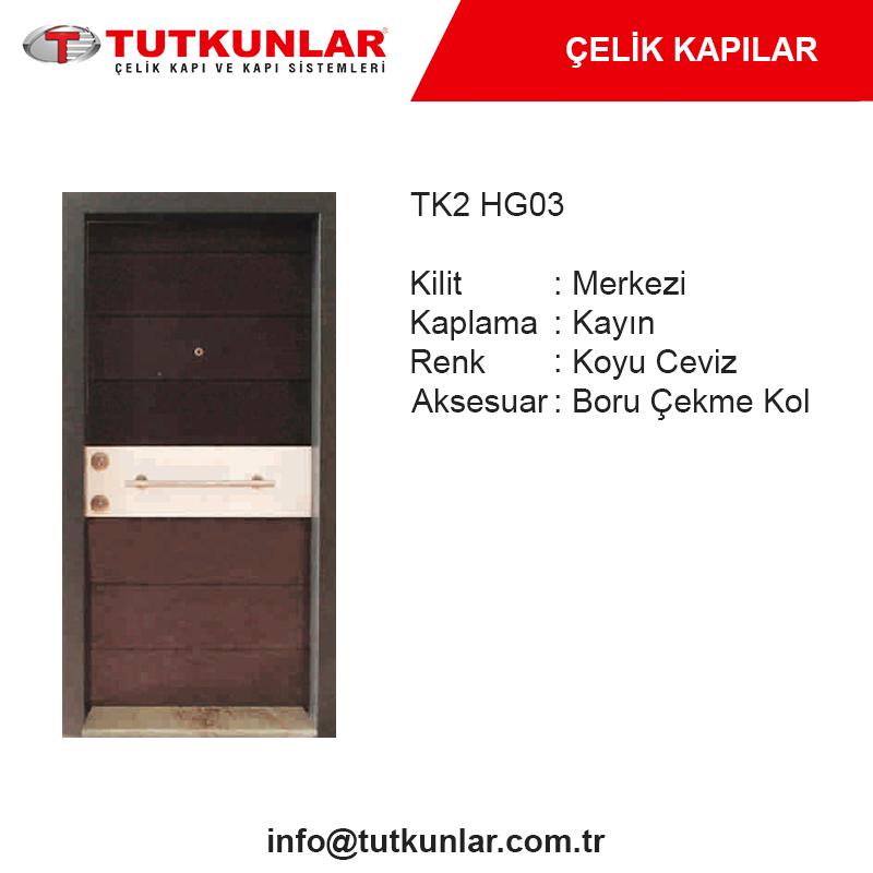 Çelik Kapı TK2 HG03