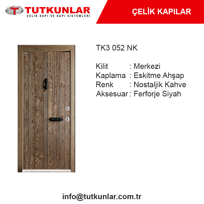 Çelik Kapı TK3 052 NK