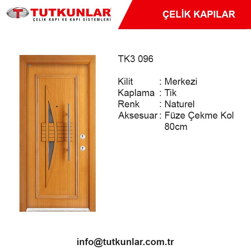 Çelik Kapı TK3 096