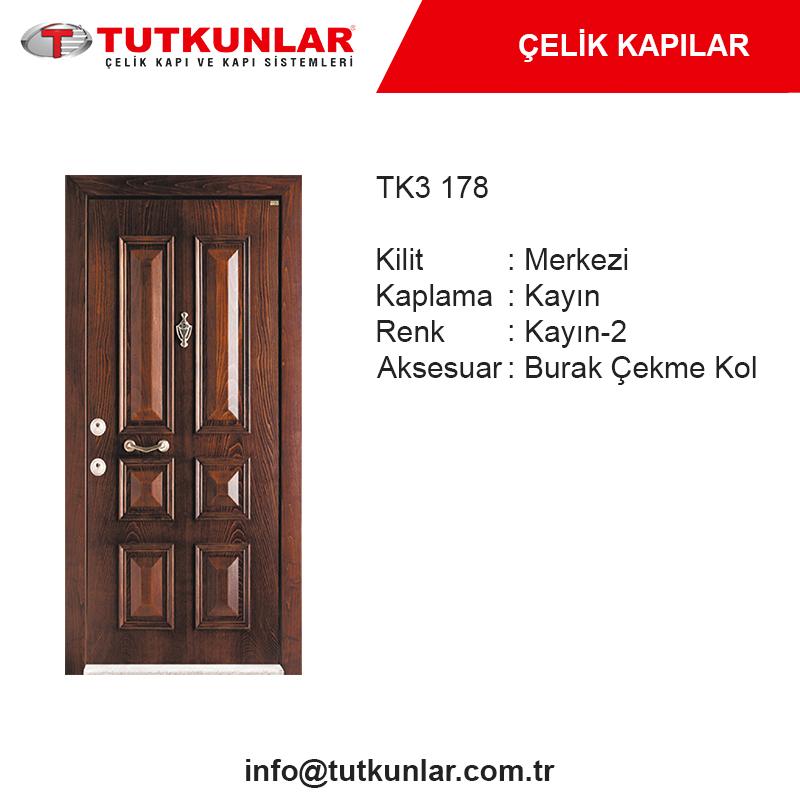 Çelik Kapı TK3 178