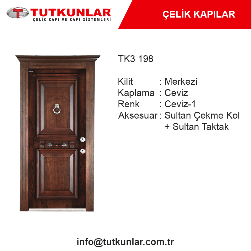 Çelik Kapı TK3 198