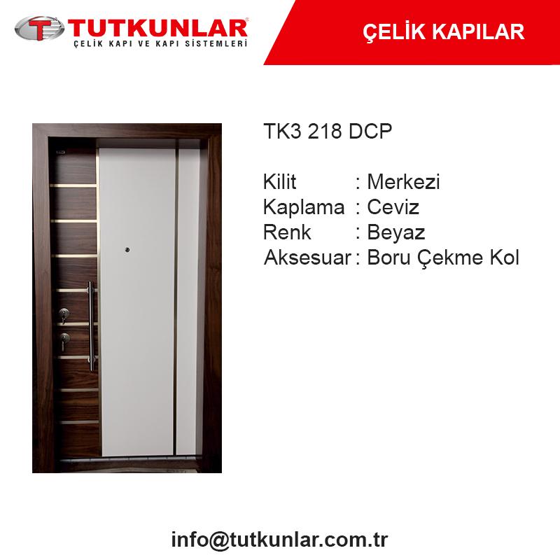 Çelik Kapı TK3 218 DCP