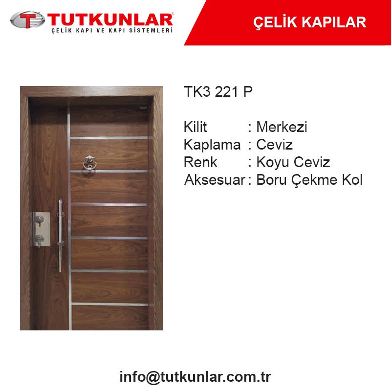 Çelik Kapı TK3 221 P