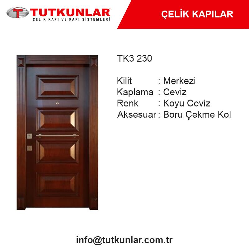 Çelik Kapı TK3 230