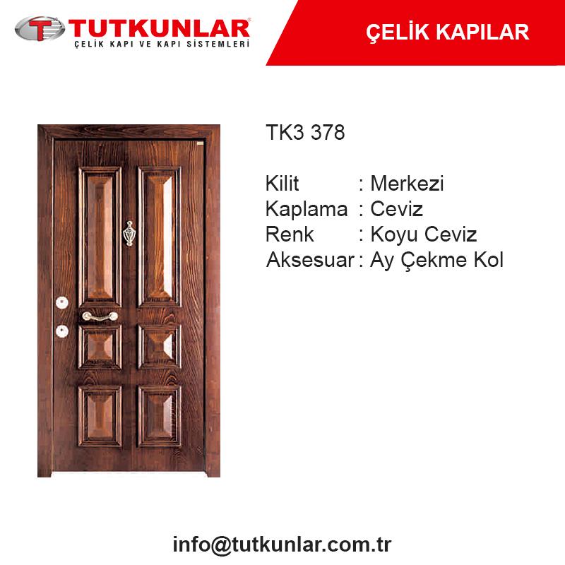 Çelik Kapı TK3 378