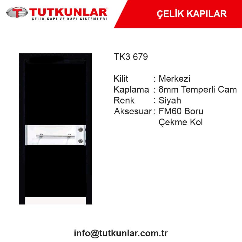 Çelik Kapı TK3 679