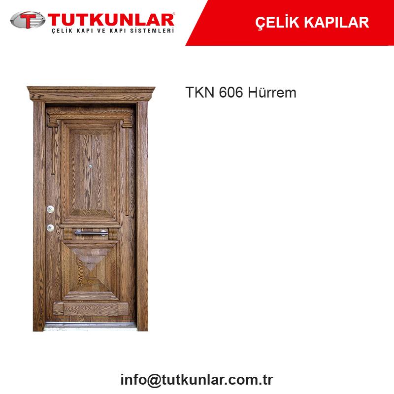 Çelik Kapı TKN 606 Hürrem